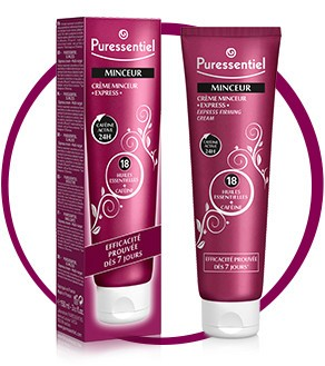 puressentiel creme minceur express 150 ml. Black Bedroom Furniture Sets. Home Design Ideas